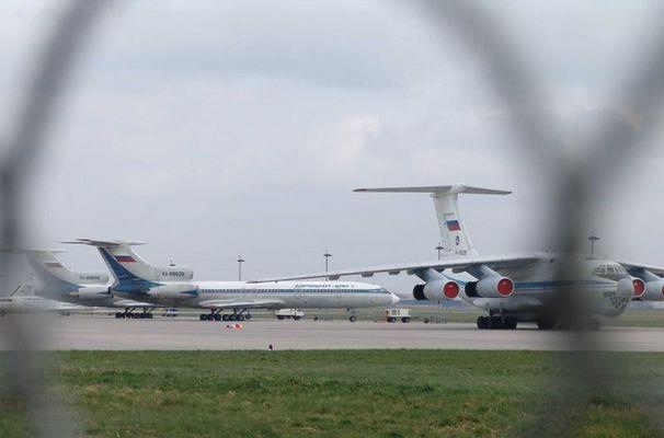 Putin's Flugzeuge