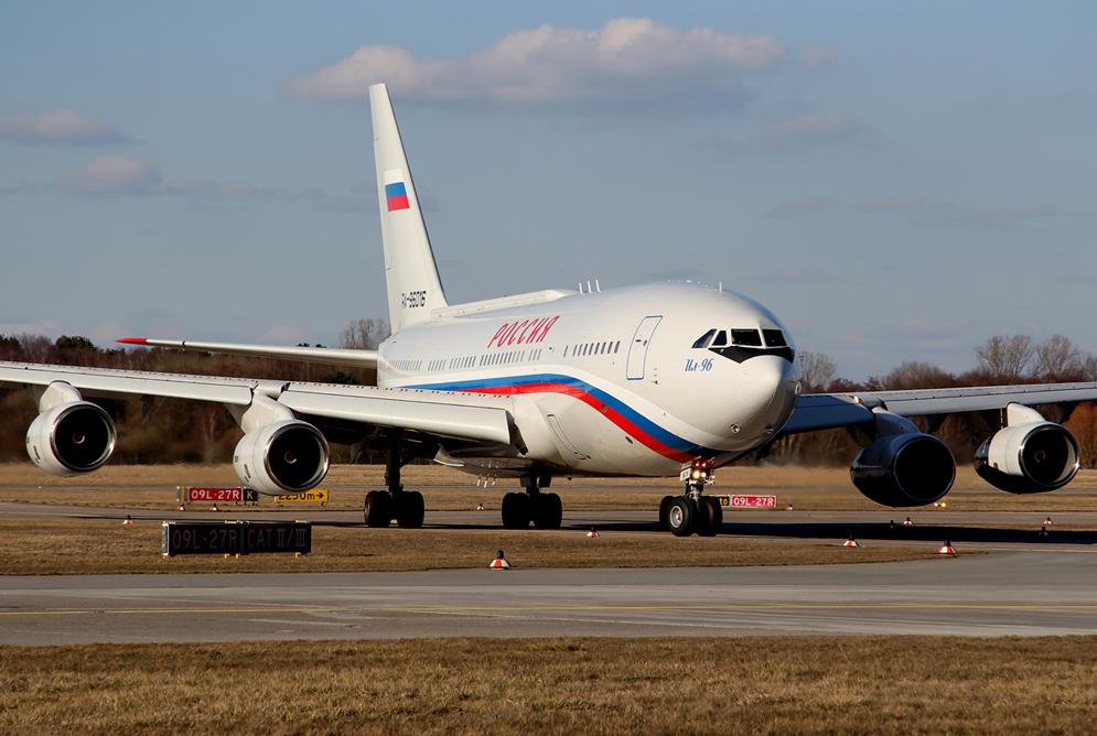 Putins Ilyushin IL-96