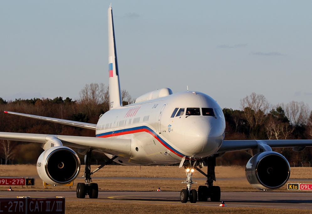 Putins Tupolev TU214
