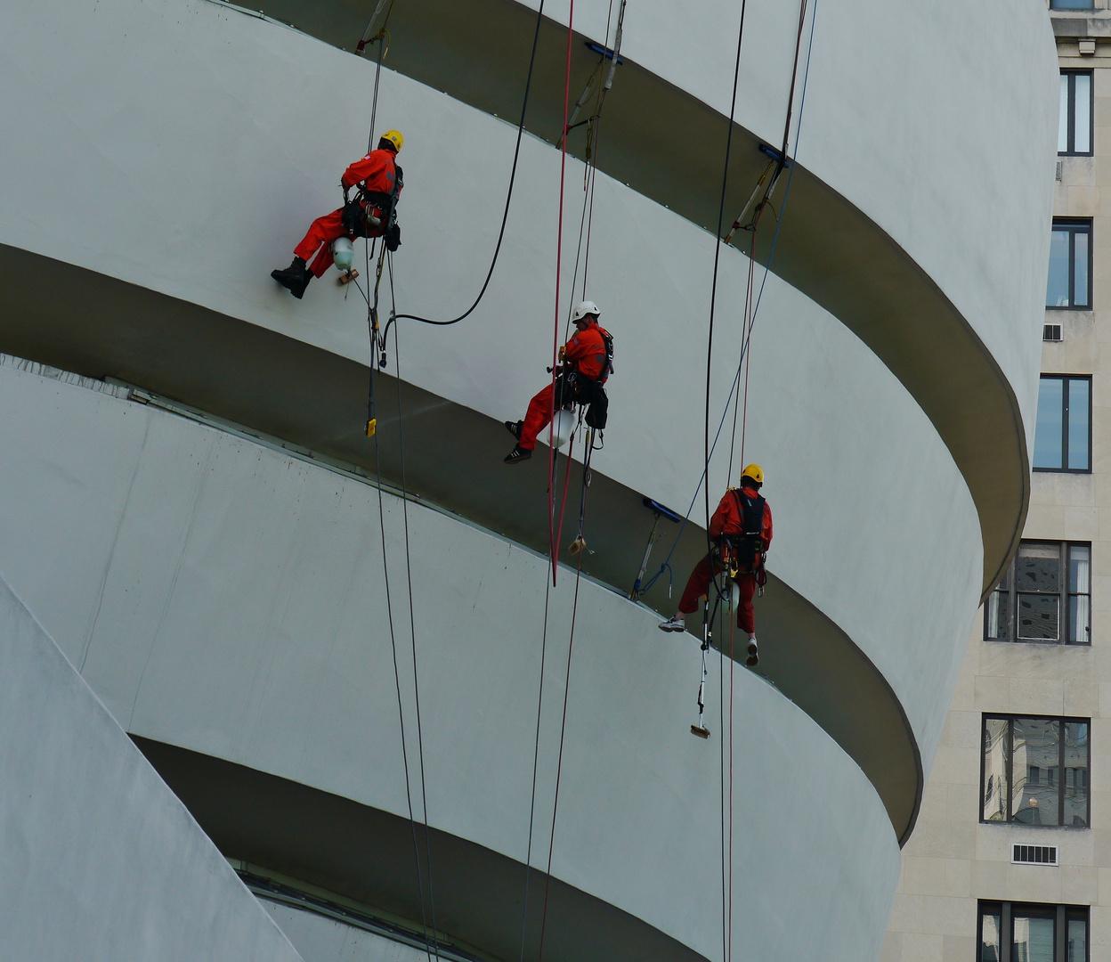 Putztag bei Guggenheims