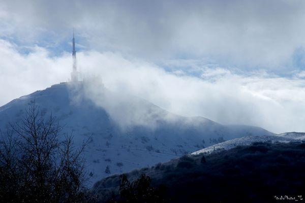 Puy-de-Dôme, fin d'hiver