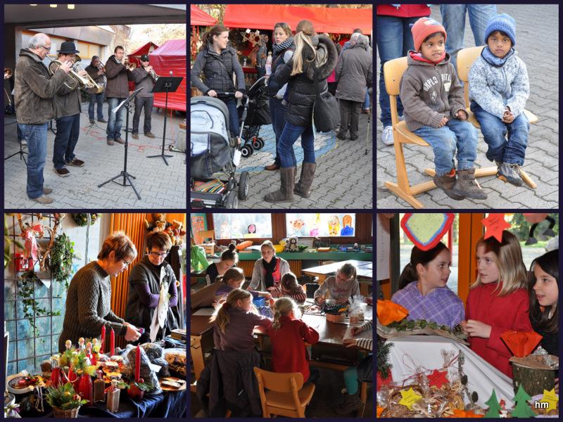 Puzzle: Adventsmärktle 2011 in Deuchelried