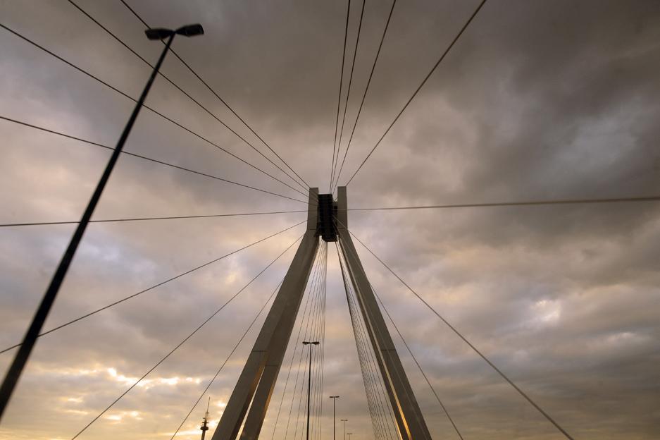 Pylonbrücke Ludwigshafen