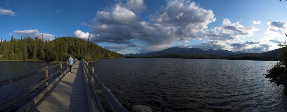 Pyramid Lake im Jasper National Park