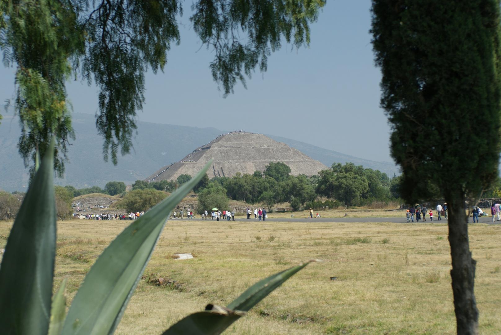 Pyramide der Sonne, Teotihuacán - México