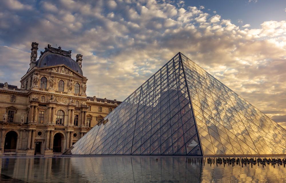 Pyramide et réflexions