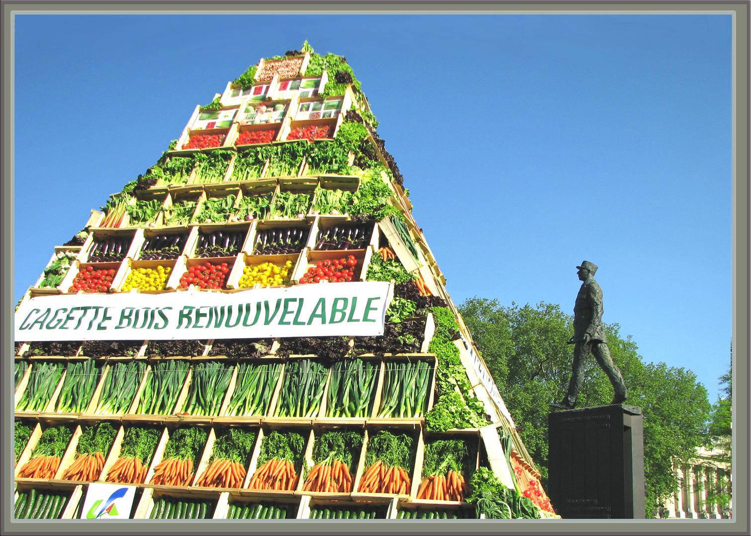 Pyramide pour le général
