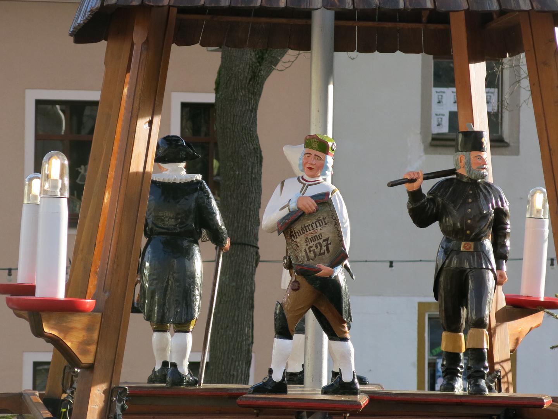 Pyramidenfiguren in Oberwiesenthal