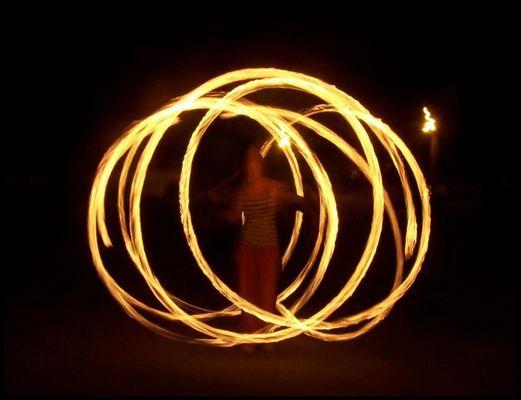 Pyro-jonglerie