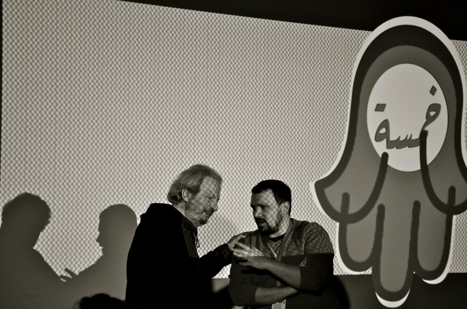 Q and A mit Mohamad Malas beim 5. Arabischen Filmfestival in Berlin