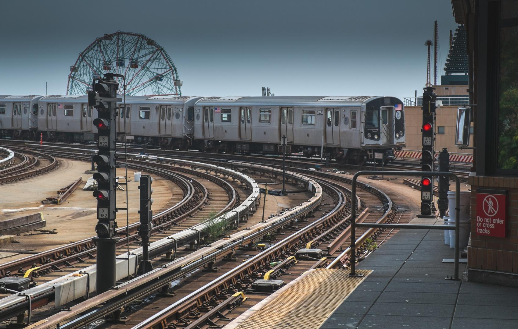 Q Train Coney Island / Stillwell Ave