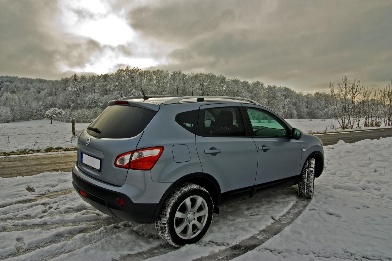 Qashqai - der erste Ausflug in den Schnee