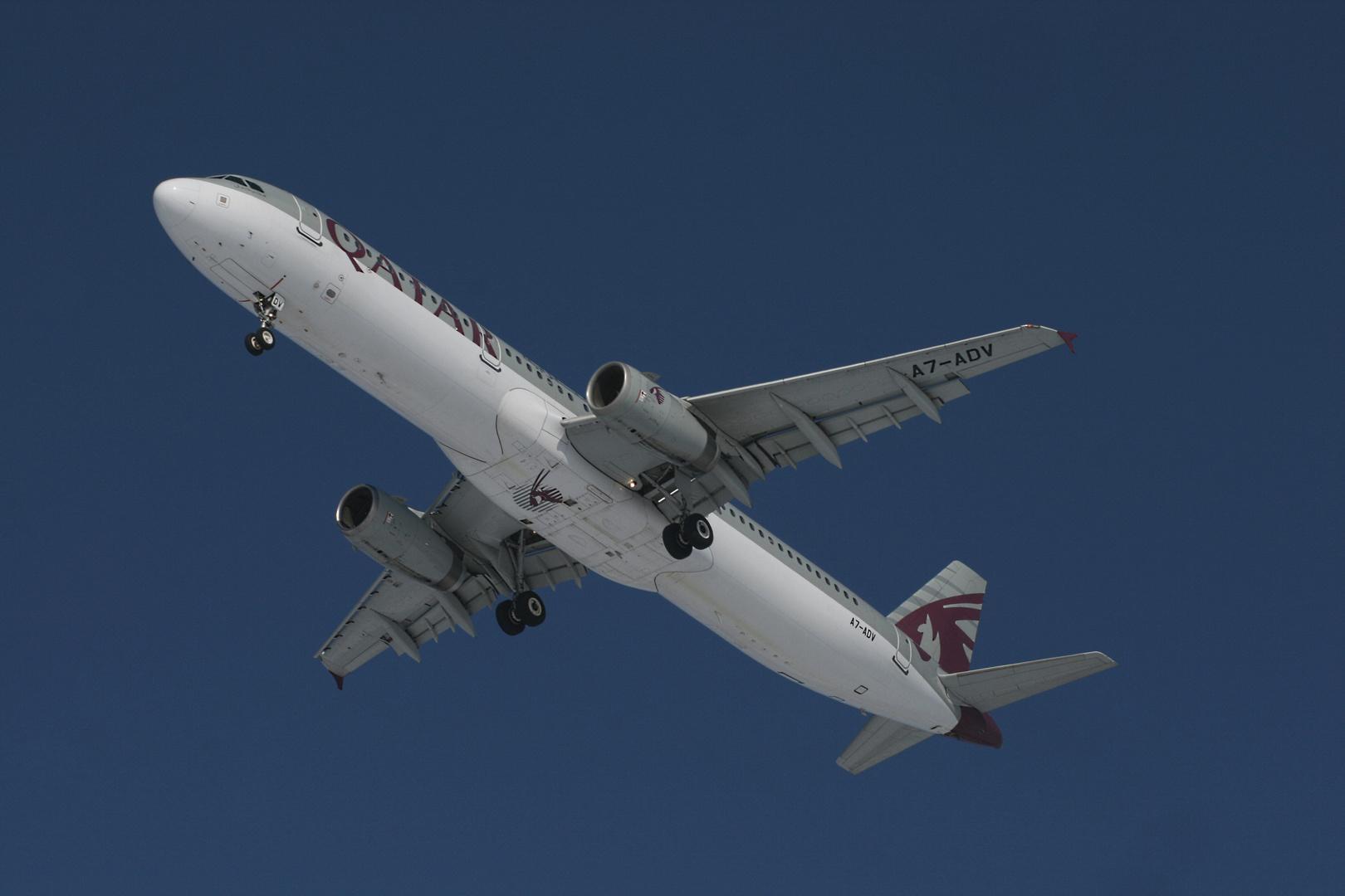 Qatar Airways Airbus A321-231