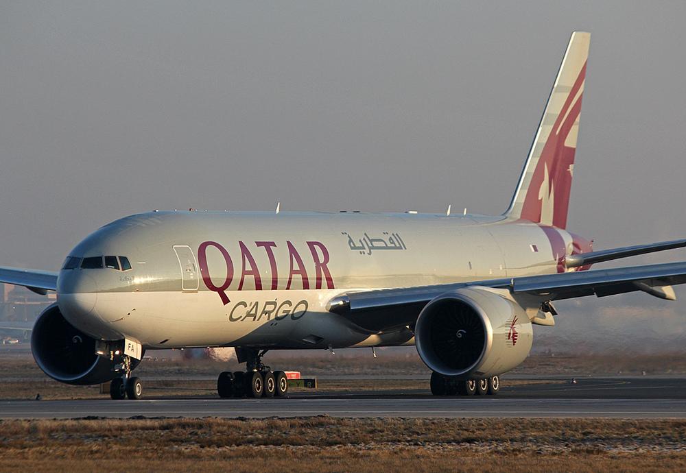 QATAR Cargo Boeing 777-FDZ A7-BFA