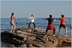 Qigong an der Küste von Kroatien