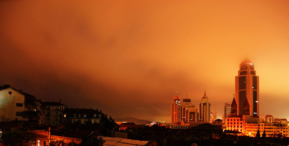 Qingdao by Night