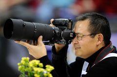 Qingwei auf DTB Pokal 2008 - Foto von Michael Weber