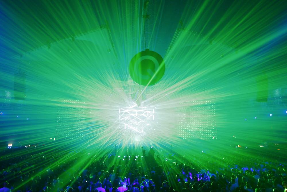 Qlimax LaserShow