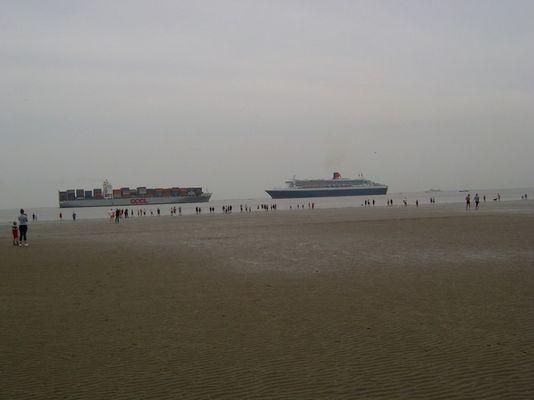 QM auf der Elbe