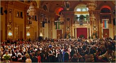 Quadrille-Francaise im Festsaal der Hofburg