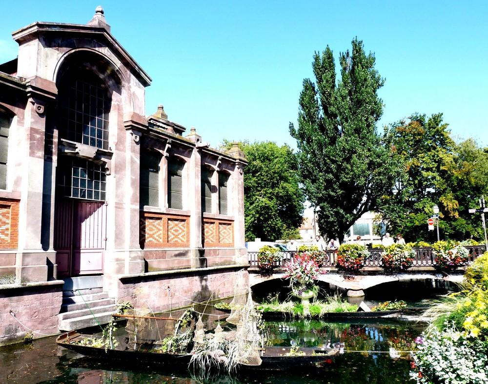 quai des bateliers à Colmar