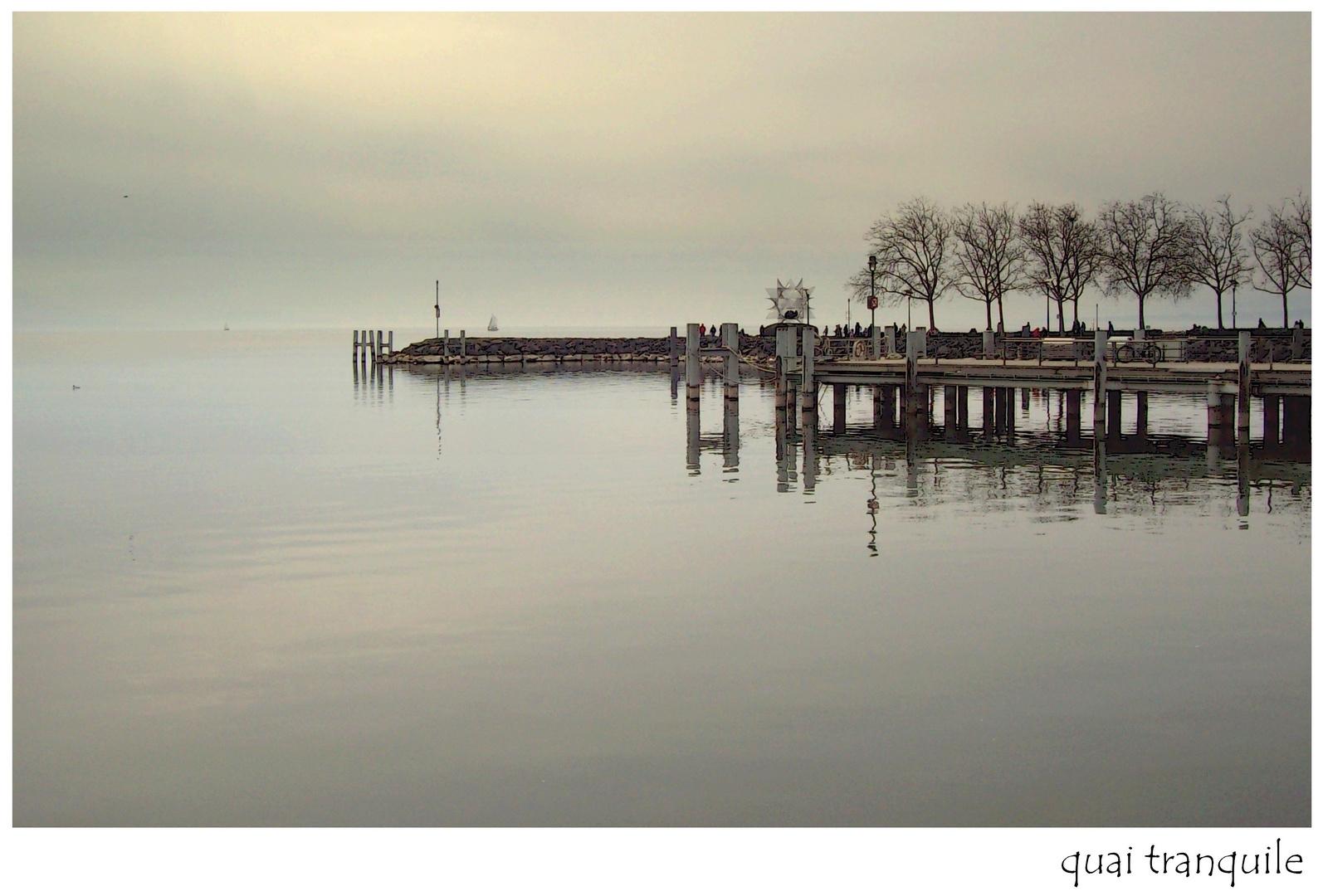 quai tranquile