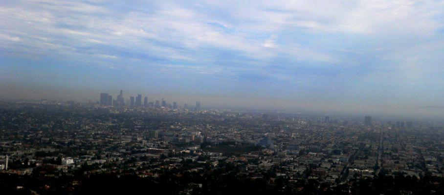 Quand il y a du Brouillard sur L.A ....