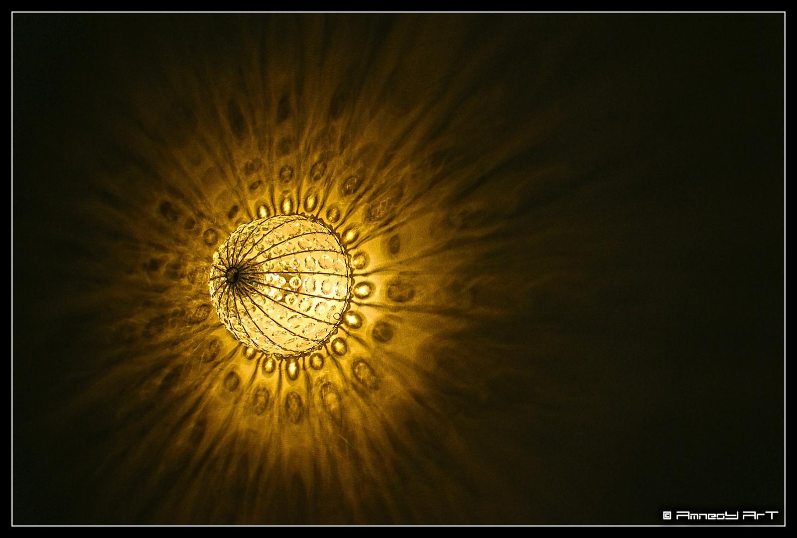 Quand la lumière joue avec ce qui l'entoure.