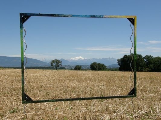 Quand le Mont-Blanc s'invite dans une exposition d'art en campagne !