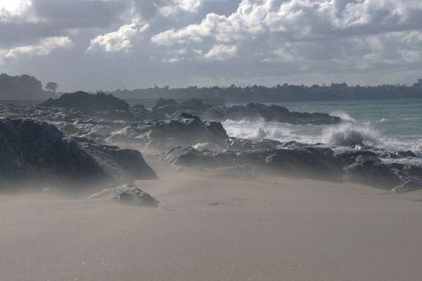 Quand le sable s'agite