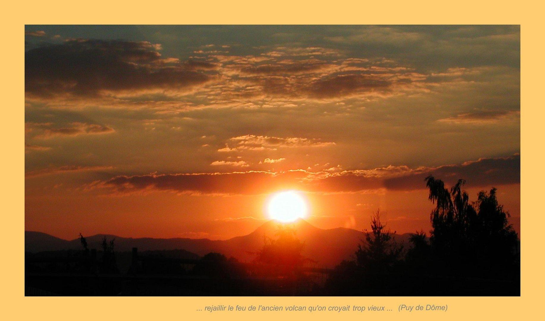 Quand le volcan gobe le soleil