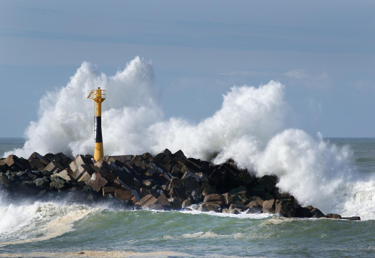 Quand l'océan se déchaine ....