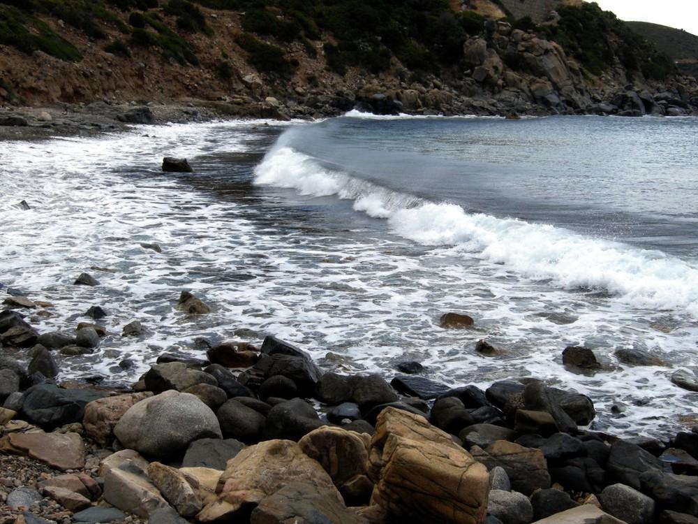 Quando all'onda sale la cresta