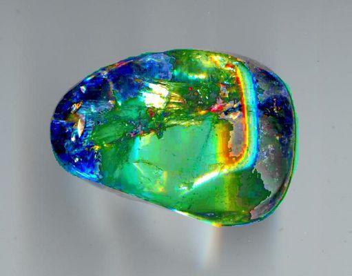 Quartz Crystal Color Enhanced