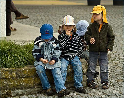 quatro ragazzi  :-))      coole Jungs