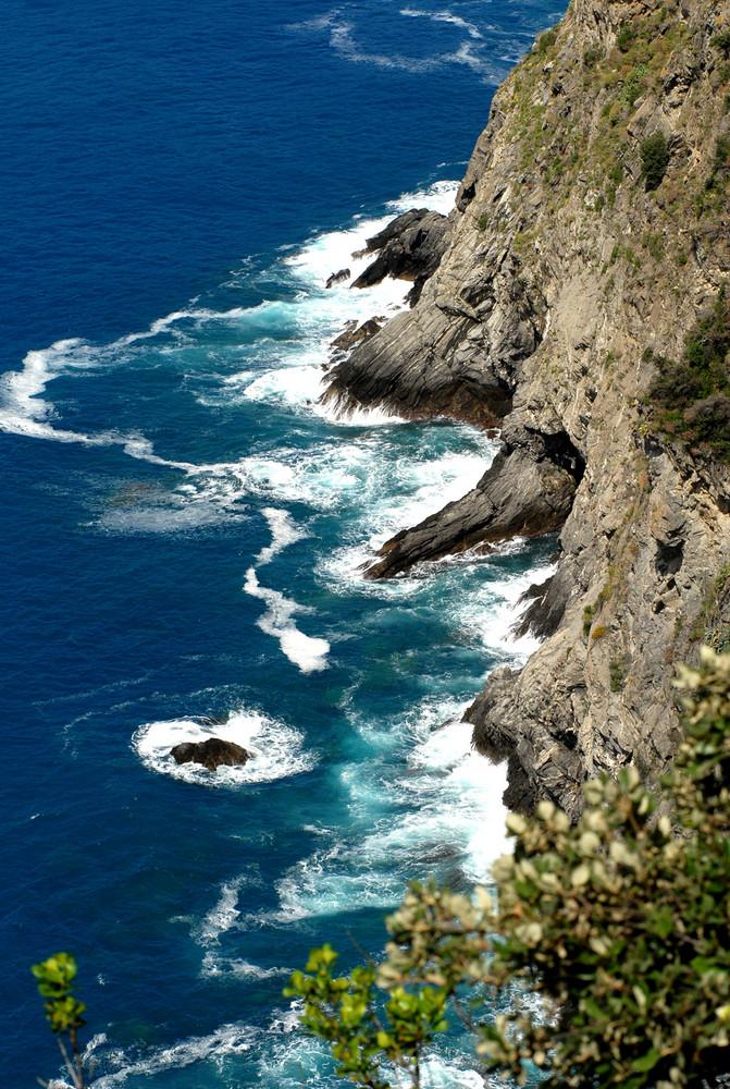 Quattro passi a picco sul mare..............cercando di non cadere!!