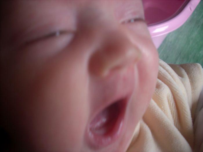 Que c'est bon d' être un bébé