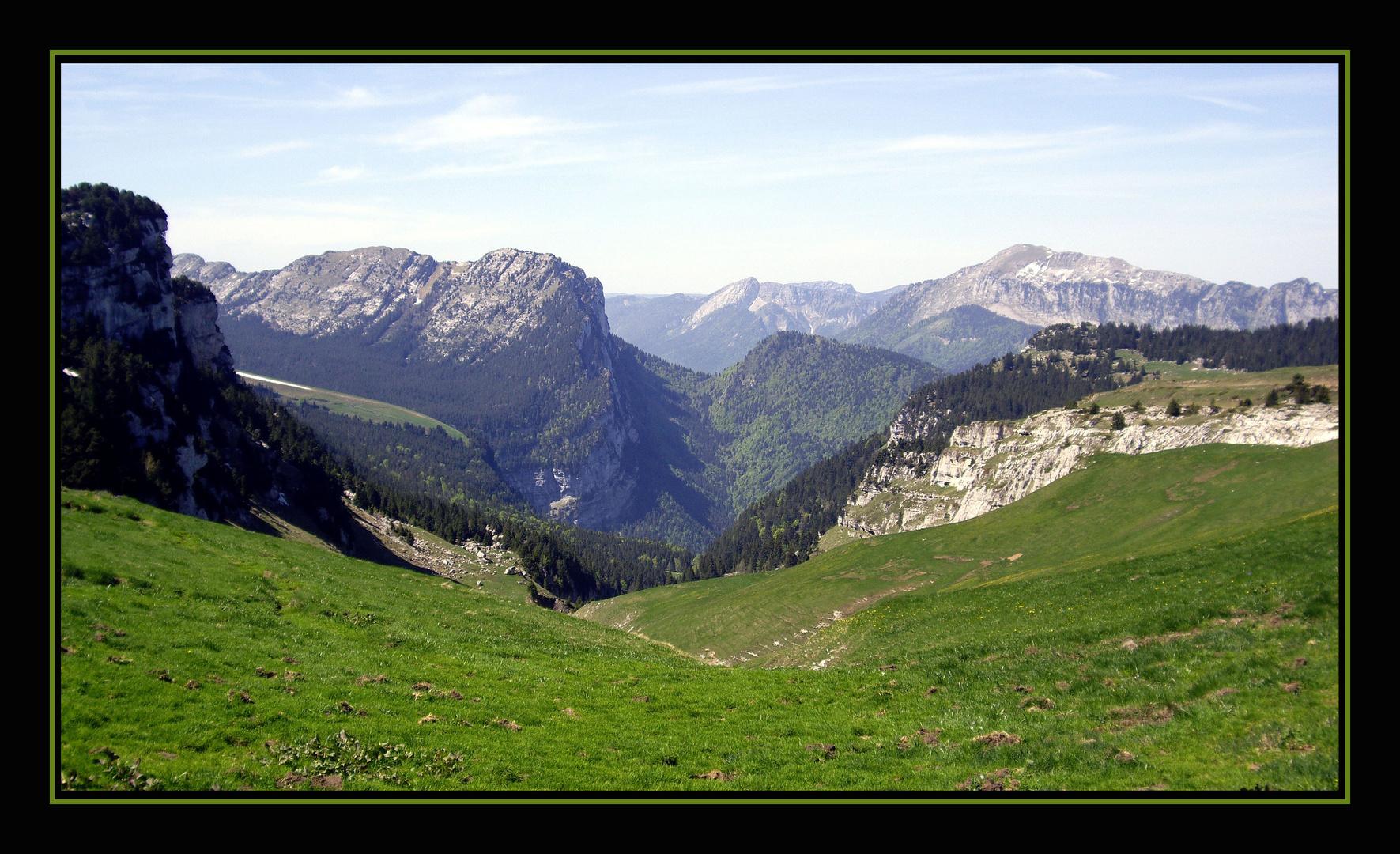 Que de montagnes !