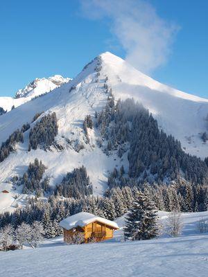 Que la montagne est belle au soleil...