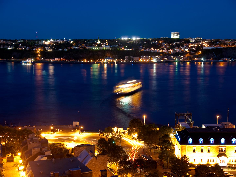 Quebec City @ night