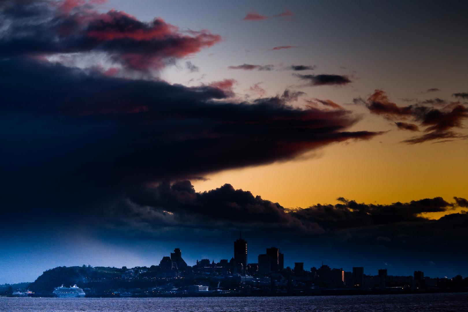 Québec soir de tempête 2