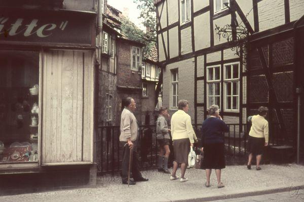 """Quedlinburg 1964 (4) - """"Was gibt es denn da zu sehen?"""""""