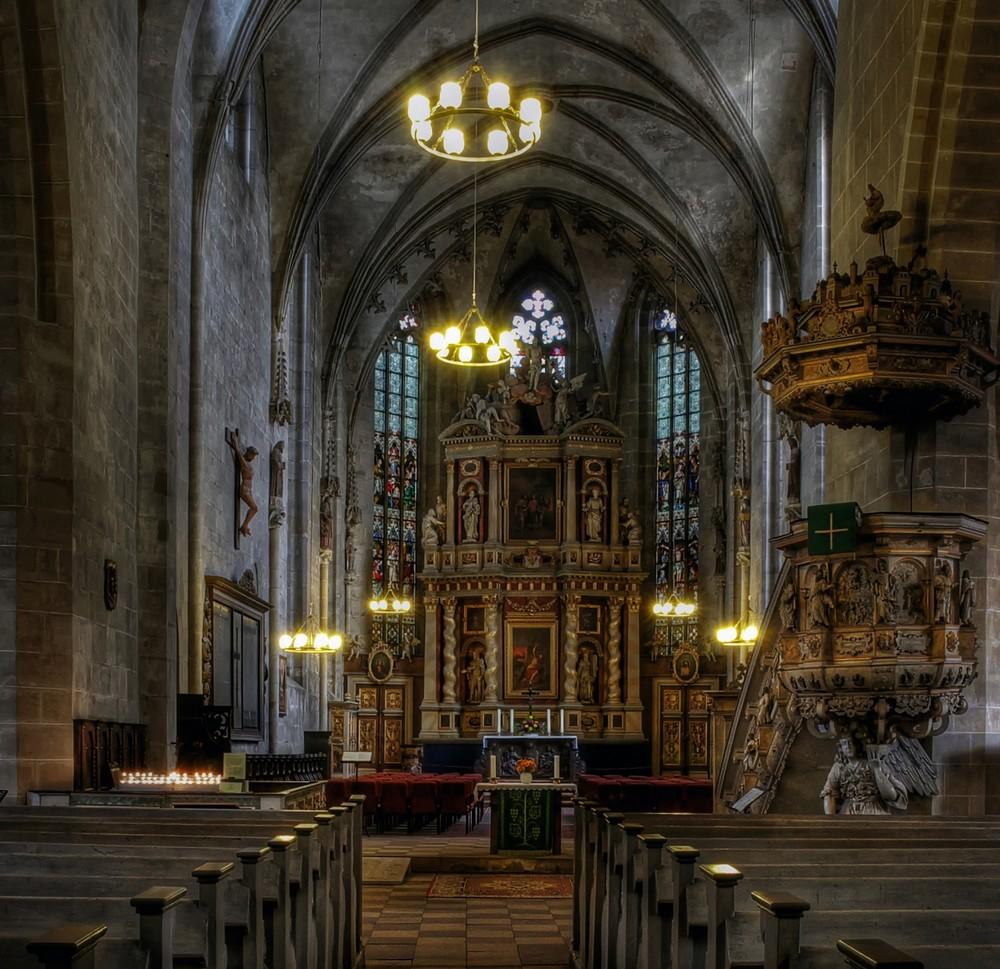 """Quedlinburg - Centrum """" Details der St. Benedikti """""""