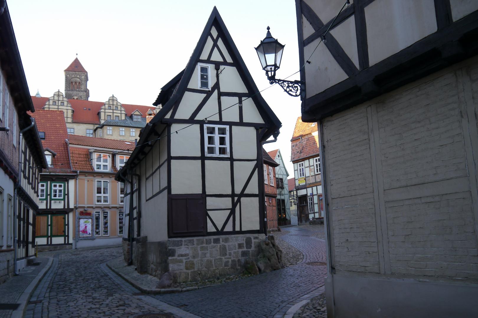 Quedlinburg im Januar 2014