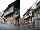 Quedlinburg Kirchhof 7 1994 und 2014