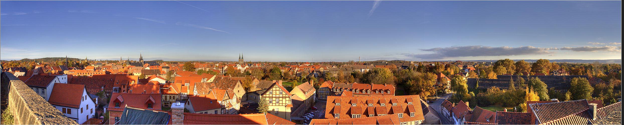 Quedlinburg, Perle im Harz