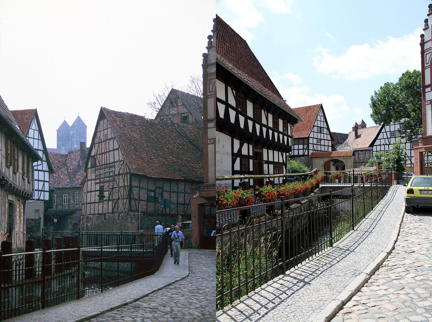Quedlinburg Word 1994 und 2014