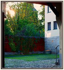 Quedlinburger Hinterhof