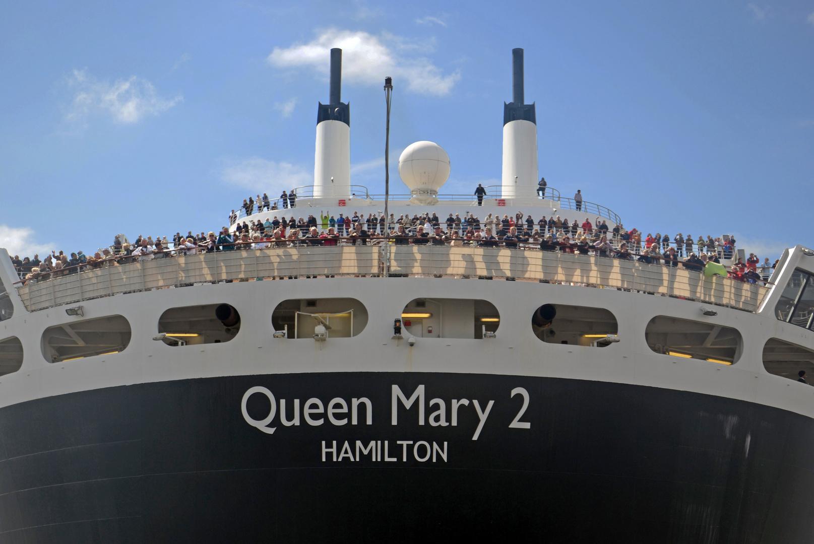 Queen Mary 2 am Hafengeburtstag