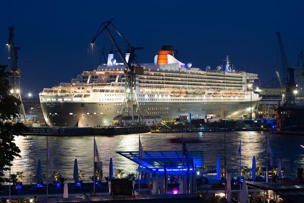 Queen Mary 2 , Blohm+Voss, Hamburg